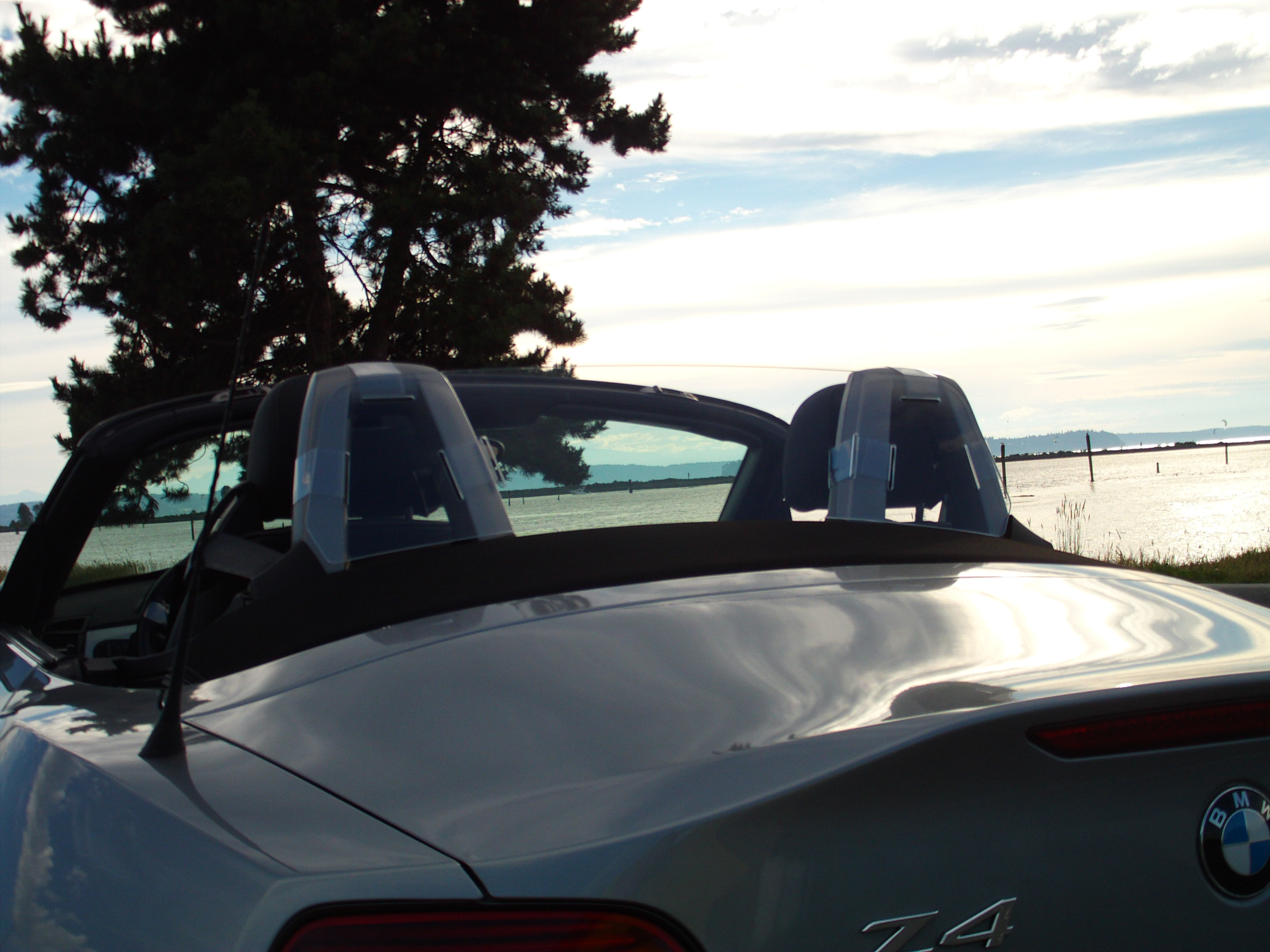 1 Bmw Z4 Windscreen Wind Deflector Maximum Protection